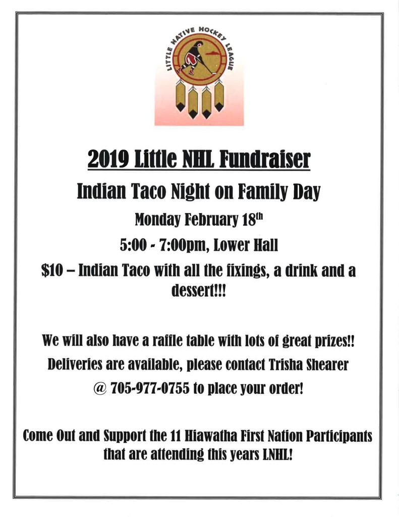 LNHL Fundraiser