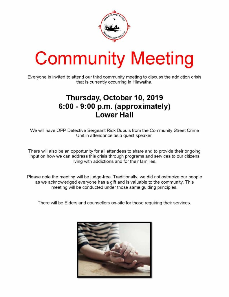 Community Meeting #3