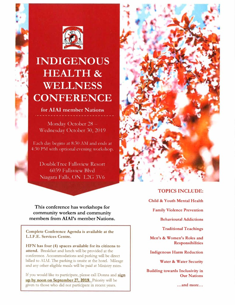 Indigenous Health & Wellness Conference