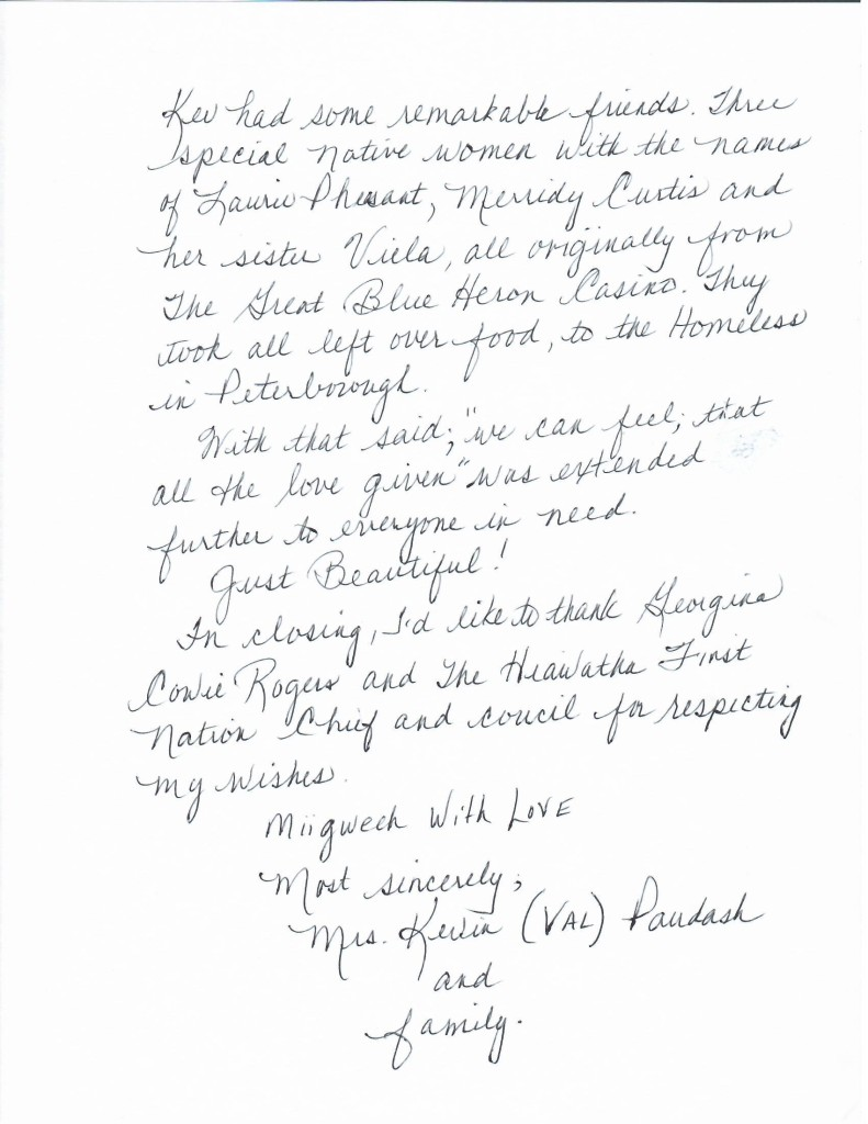 Letter of Thanks from Paudash Family_Page_2