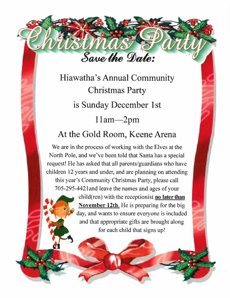 Hiawatha Christmas Party