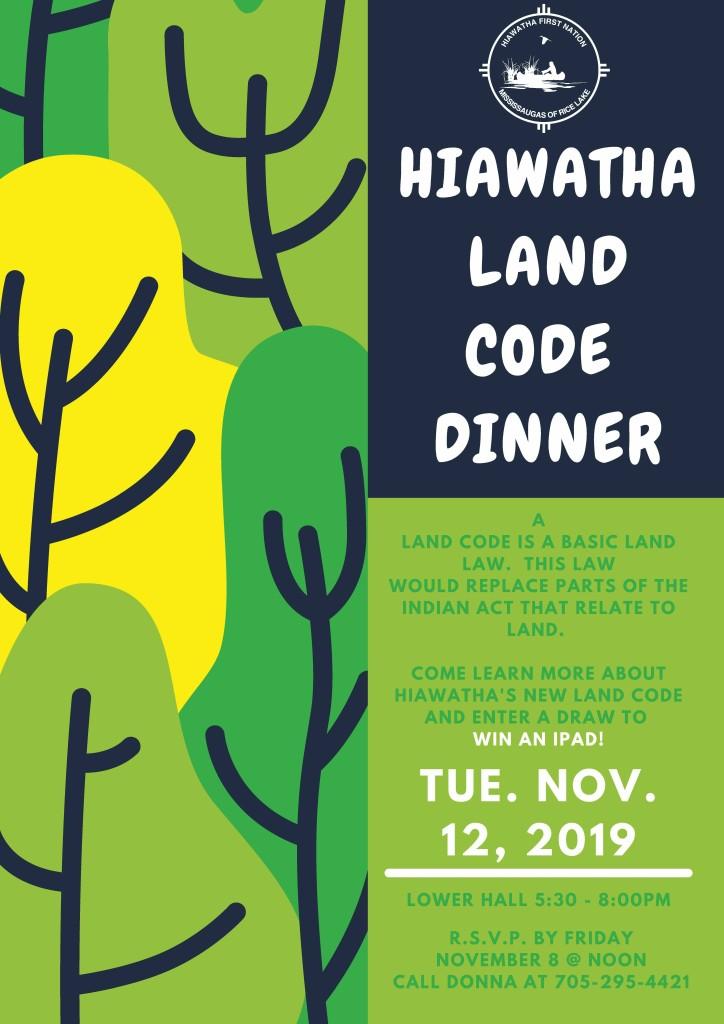Land Code Dinner