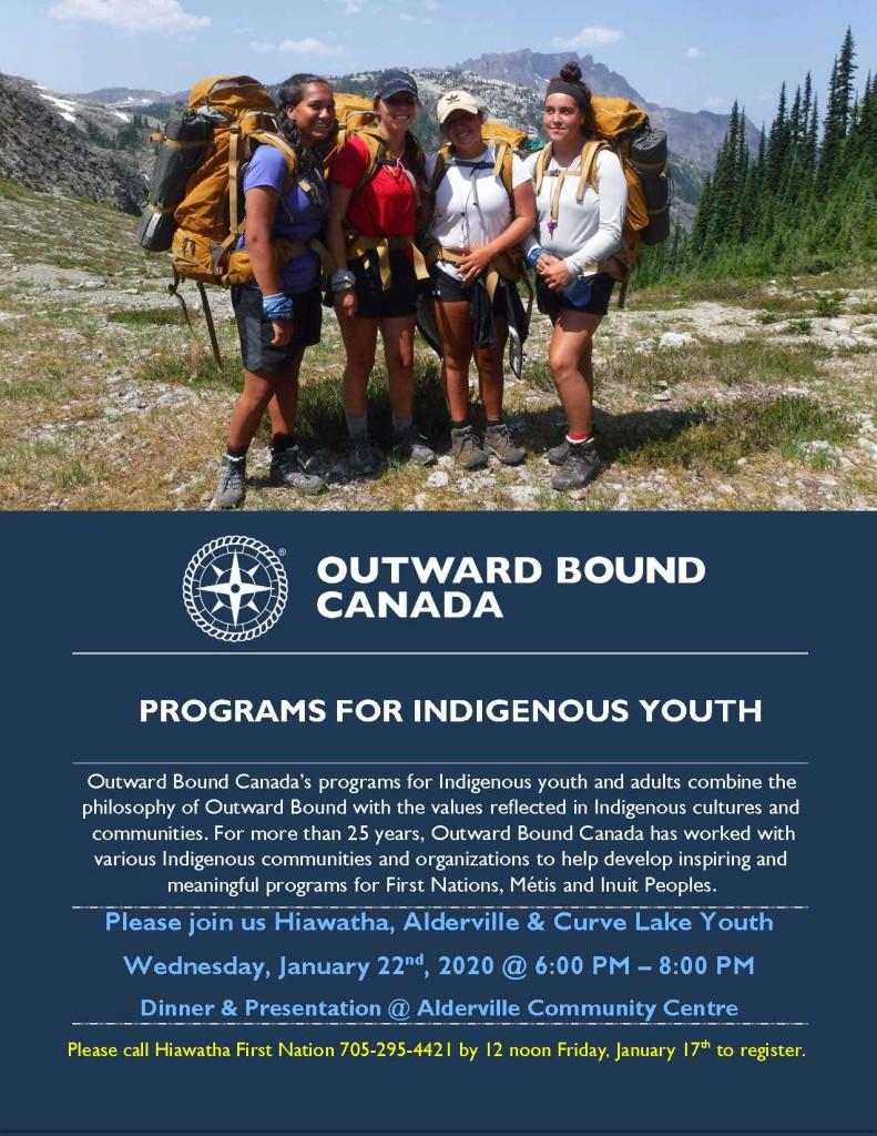 Outward Bound Presentation - January 22, 2020