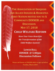 AIAI Child Welfare Reform Dinner