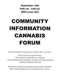 Community Information Cannabis Forum