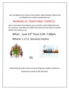 Smoking vs Tobacco Dinner